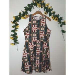 H&M Tribal Print Dress